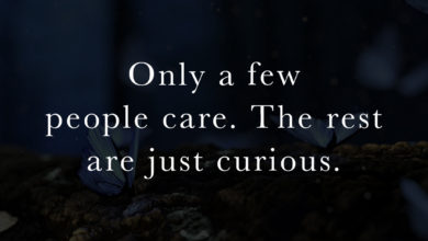 Photo of Only a few  people care…