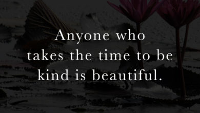 Photo of Anyone who takes the time to be kind…