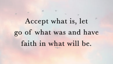 Photo of Accept what is…