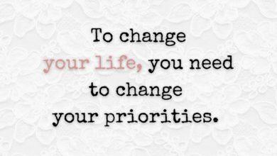 Photo of Priorities