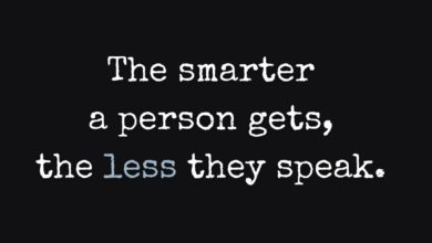 Photo of The smarter a person gets…