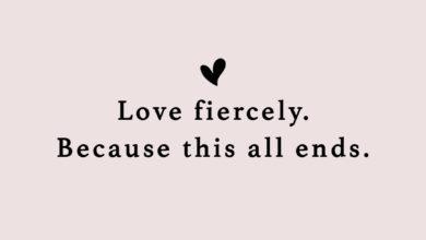 Photo of Love fiercely.
