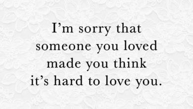 Photo of I'm Sorry