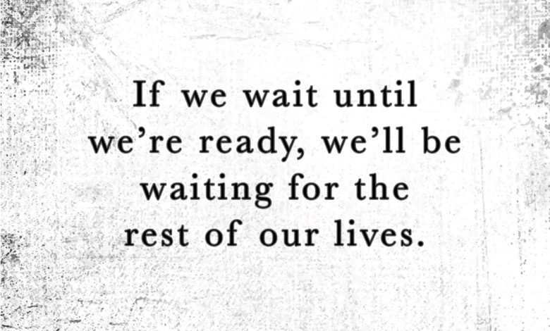 Photo of We'll Be Waiting