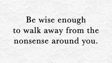 Photo of Be Wise