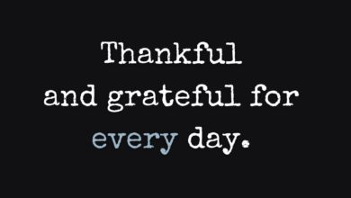 Photo of Thankful and Grateful