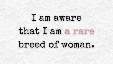 Photo of I am aware that…