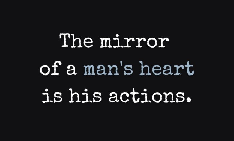 Photo of A man's heart…
