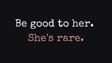 Photo of She's rare.