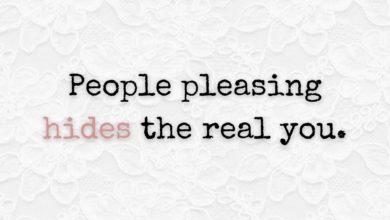 Photo of People pleasing…
