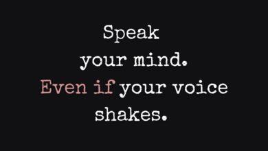 Photo of Speak your mind…