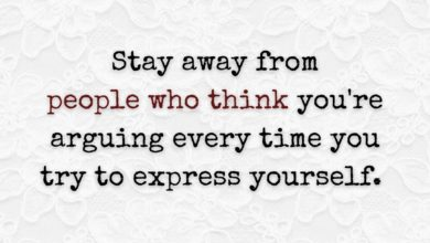 Photo of Stay away from people who…