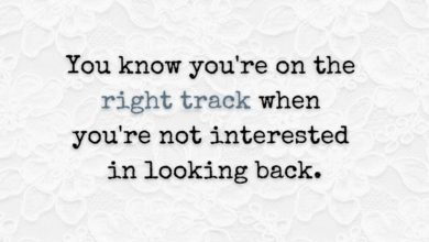 Photo of The right track…
