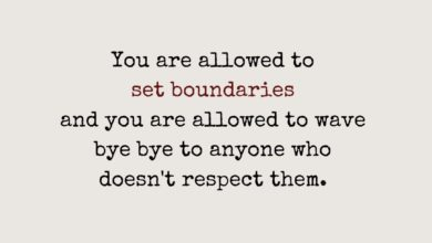 Photo of You are allowed to set boundaries.