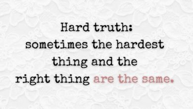 Photo of Hard truth…