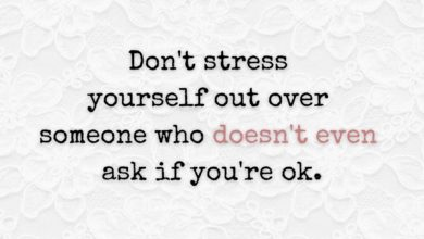 Photo of Don't stress yourself out…