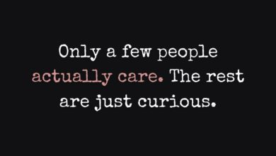 Photo of Only a few people actually care…