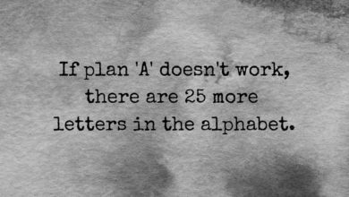 Photo of If plan 'A' doesn't work…