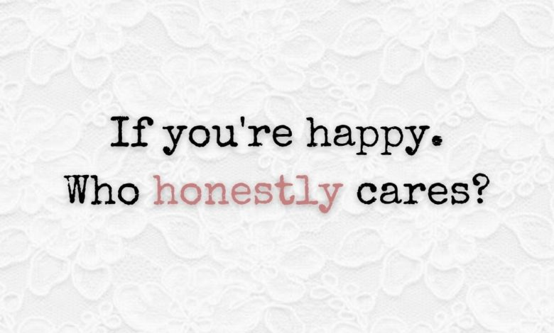 Photo of Who honestly cares?