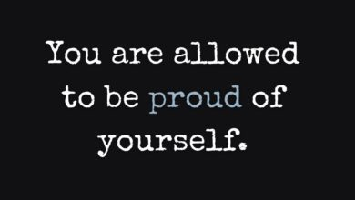 Photo of Be Proud of Yourself