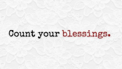 Photo of Count your blessings