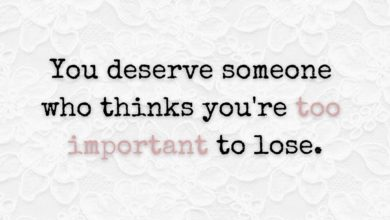 Photo of You deserve someone who…