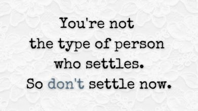 Photo of Don't Settle
