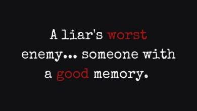 Photo of A liar's worst enemy…