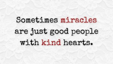 Photo of Sometimes miracles are…
