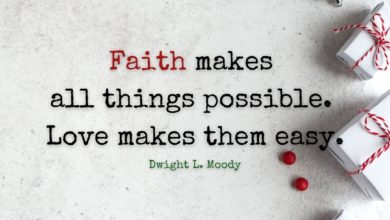Photo of Faith makes all things possible.